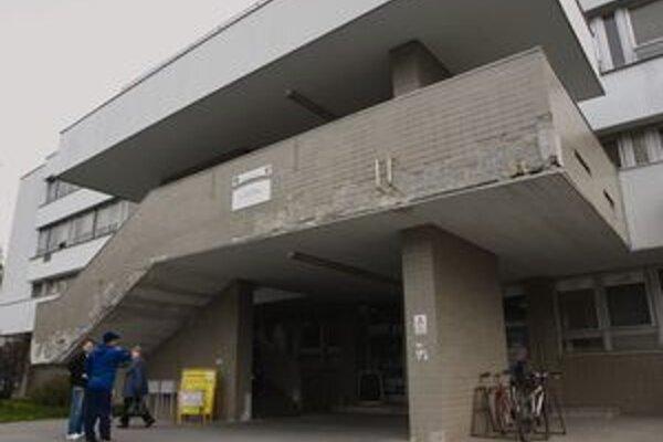 Poliklinika v Liptovskom Hrádku.