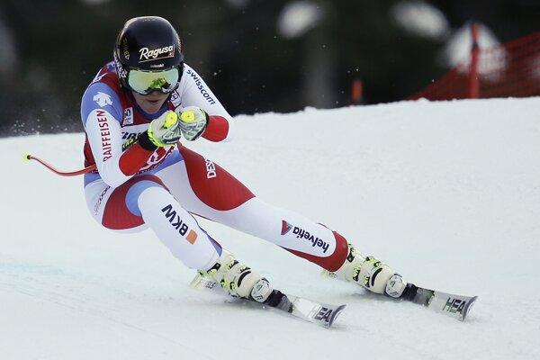 Lara Gutová predviedla v nedeľu najrýchlejšiu jazdu.