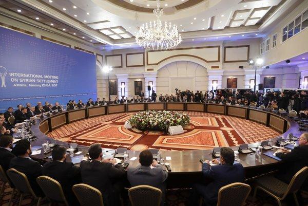 Januárové mierové rozhovory v Astane.