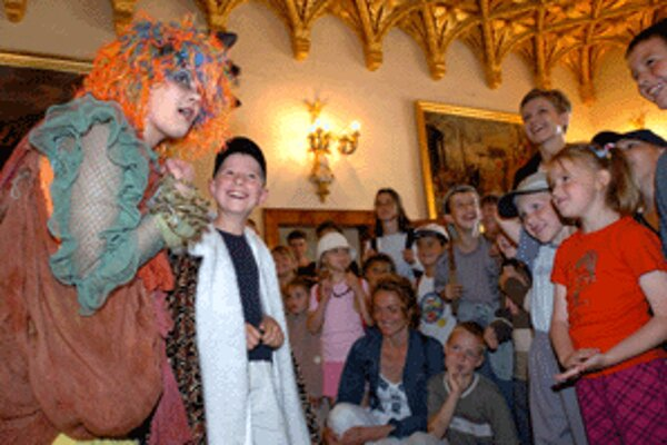 Rozprávkové podujatie na Bojnickom zámku sa každý rok teší veľkému záujmu.