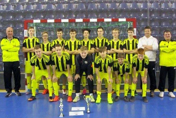 Dorastenci FAM Poprad. Na medzinárodnom turnaji skončili na 2. mieste.