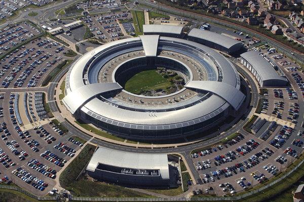 Ústredie britskej spravodajskej a špionážnej organizácie GCHQ.
