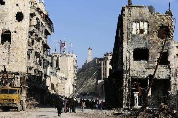 V Sýria stále zúri vojna.