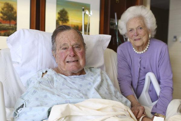 Exprezident s manželkou.