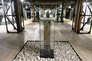 Múzeum holokaustu v Seredi - práve tu dnes začala prvá časť projektu.
