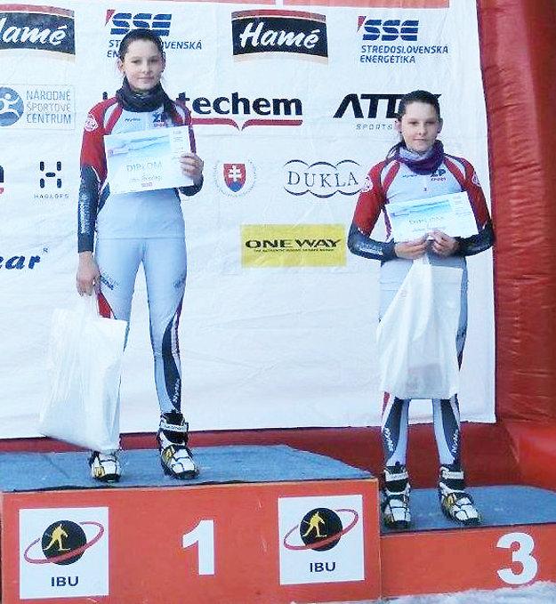 Talentované dvojičky z Hruštína sa často dostanú na stupne pre víťazov spoločne.