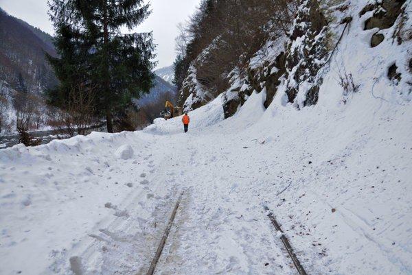 Železničná trať je opäť neprejazdná.