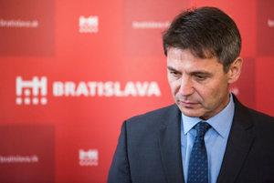 Primátor Bratislavy Ivo Nesrovnal.