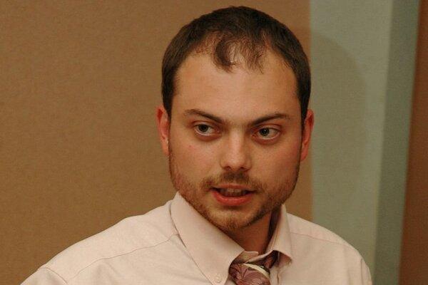 Ruský opozičný politik Vladimir Kara-Murza.