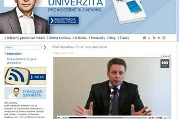 Univerzita podpredsedu SDKÚ o akreditáciu nepožiada.
