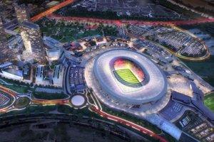 Nový štadión AS Rím bude pripomínať koloseum.