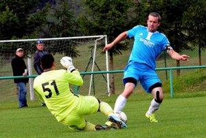 Michal Kempný, ktorý vlani strelil martinskému béčku gól, tentoraz vyšiel v derby strelecky naprázdno.