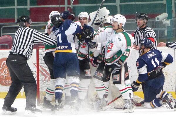 Ilustračné foto zo zápasu HK Skalica - Prešov Penguins.