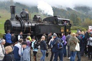 Záujem o jazdu historickým vlakom z roka na rok stúpa