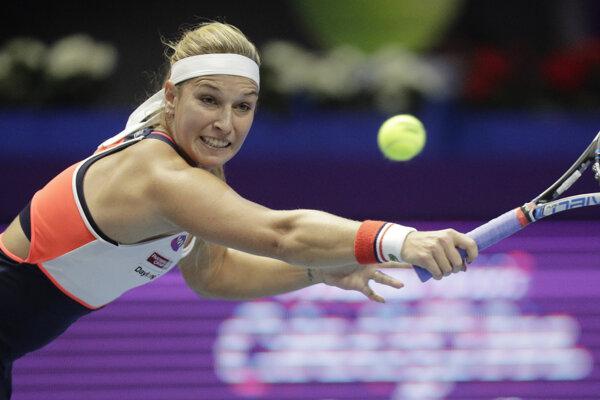 Dominiku Cibulkovú čaká najbližšie turnaj v Indian Wells.
