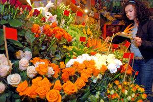 Ruže sú na Valentína stále najobľúbenejšie.