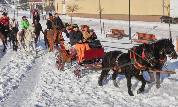 Návštevníkov najviac zaujali kone, na ktorých si mohli aj zajazdiť.