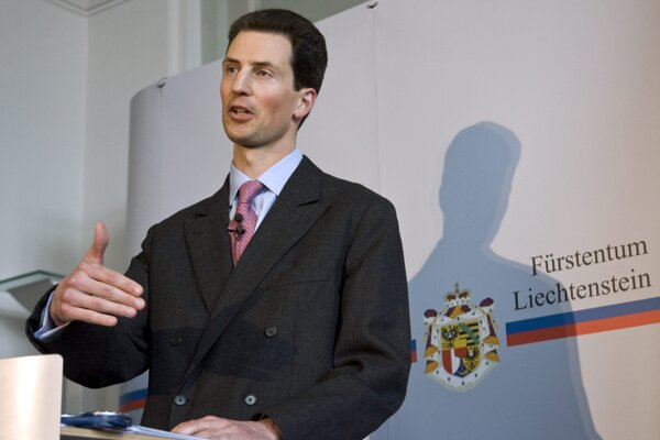 Lichtenštajnský princ Alois.