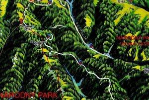 Mapka trasy.