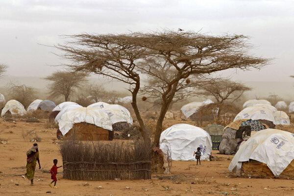 Utečenecký tábor Dadaab v Keni.