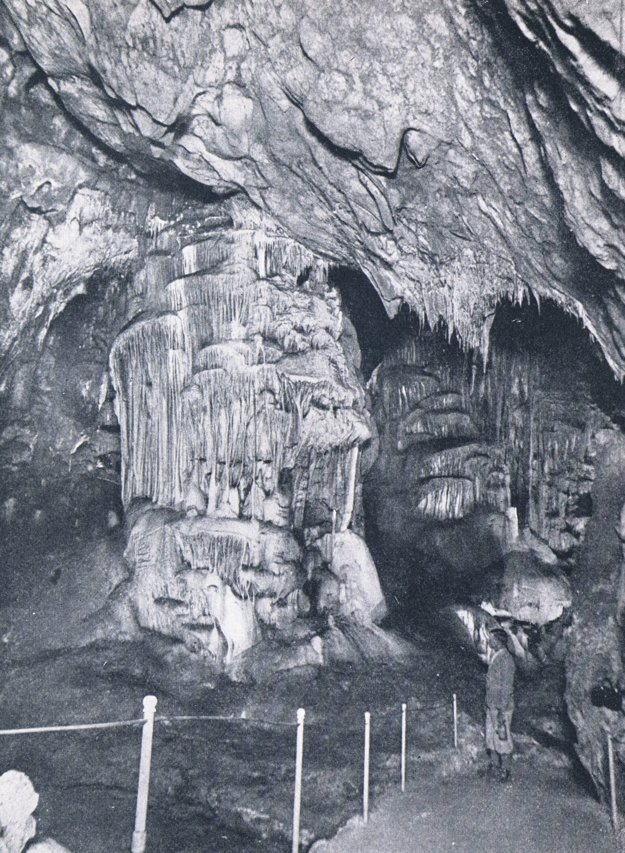 Jaskyňa Domica.