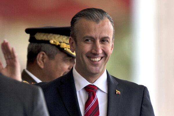 Venezuelský viceprezident Tareck El Aissami.
