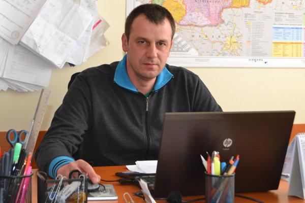 Rastislav Slocík, predseda družstva Agrospol Boľkovce.