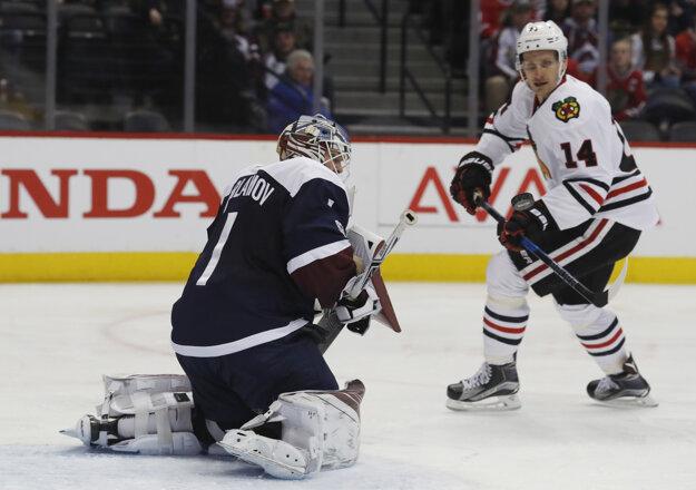 V drese Chicaga pôsobia dvaja slovenskí hokejisti - jedným z nich je Richard Pánik (vpravo).