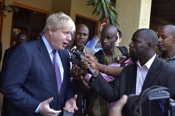 Boris Johnson v Gambii.