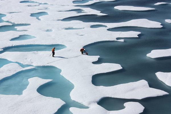 Ilustračná fotografia. Ozónová diera nad Arktídou sa podľa vedcov zacelila. Vznikla pre nezvyčajné poveternostné podmienky počas zimy.