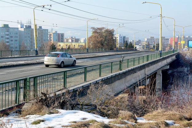 Most na Furči. Mesto v lete investuje do jeho rekonštrukcie.