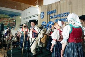 Lubená z Poluvsia. Ani tento rok nechýbala na zimnom folklórnom podujatí v Pravenci.