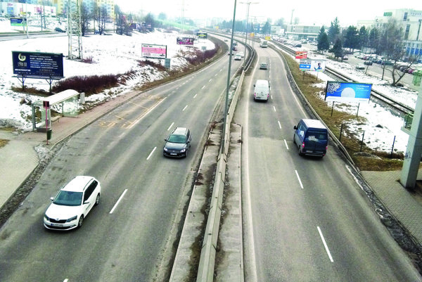 Rajecká cesta v Žiline môže slúžiť po dobudovaní diaľnic ako skratka medzi D1 a D3.