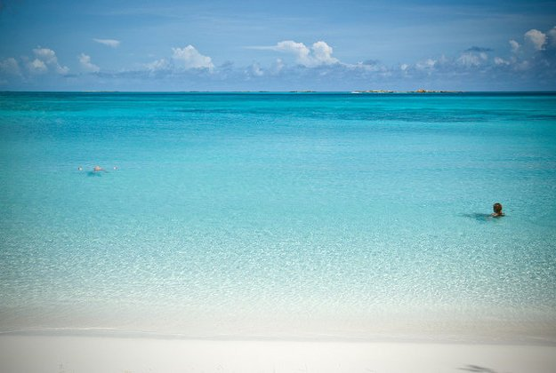 Ostrovy Exuma na Bahamách zahŕňajú rozsiahle chránené územia.