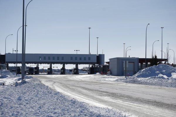 Kanadsko-americká hranica.