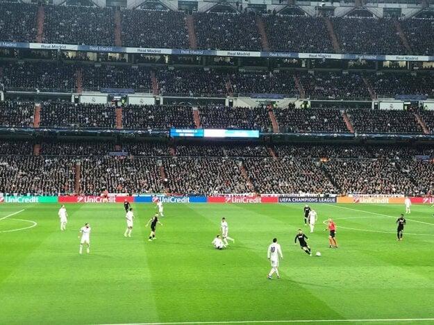 Takéto miesta mali v stredu klienti Goal Travelu na zápase Realu Madrid s Hamšíkovým Neapolom.