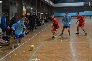 Momentka z finálového zápasu Čadca - Oščadnica.