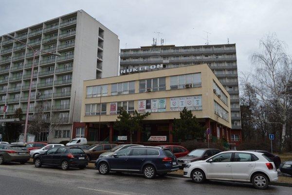 Trnavský hotel Nukleon.