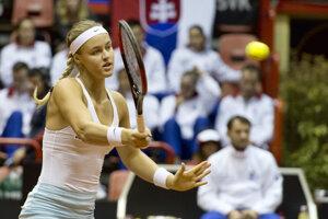 Anna Karolína Schmiedlová napokon vydrela postup.