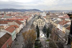 Košice. Vo štvrtok popoludní tam bolo najteplejšie za posledné tri mesiace.