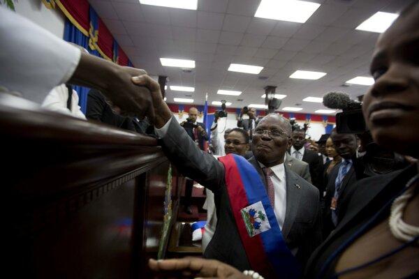 Haitský prezident Jovenel Moise.