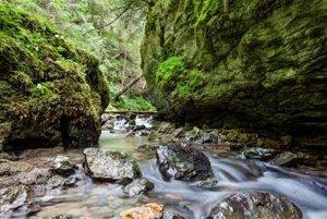 Hybická tiesňava je prírodná rezervácia na potoku Hybica, severne od obce Východná.Potok preteká treťohornými vápencami. Príchod po turistickej značke nie je možný, do lokality vedie len poľná cesta od obce Východná a lesom od Podbanského. Priechod je možný iba potokom.