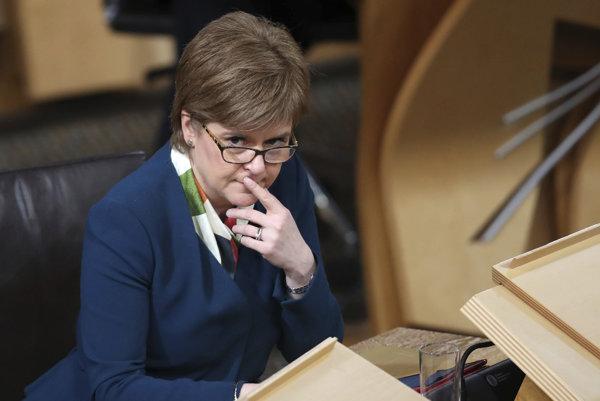 Predsedníčka škótskej vlády Nicola Sturgeonová.