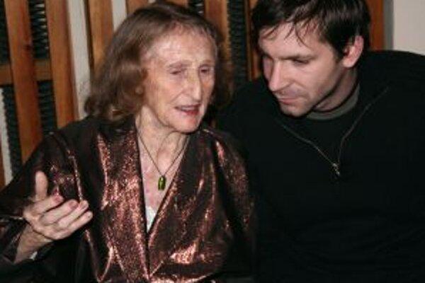 Vilma Jamnická na predstavení svojej knihy Muž môjho života.
