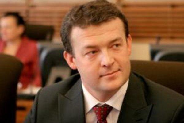 Novovymenovaný minister obrany Jaroslav Baška.