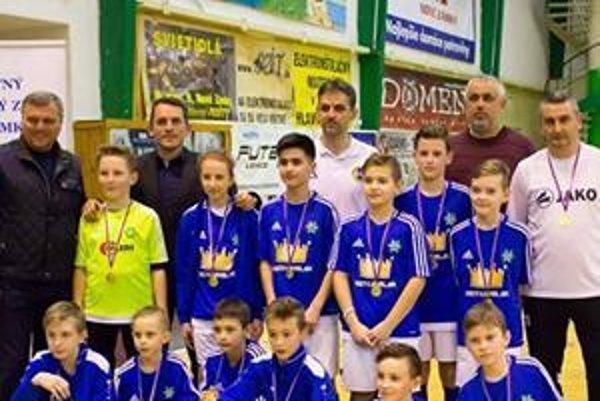 Šampióni okresu mladší žiaci FKM.