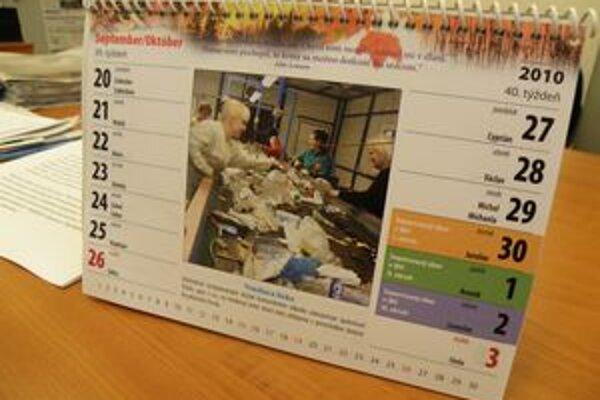 Prievidza vydala kalendár o nakladaní s komunálnym odpadom.