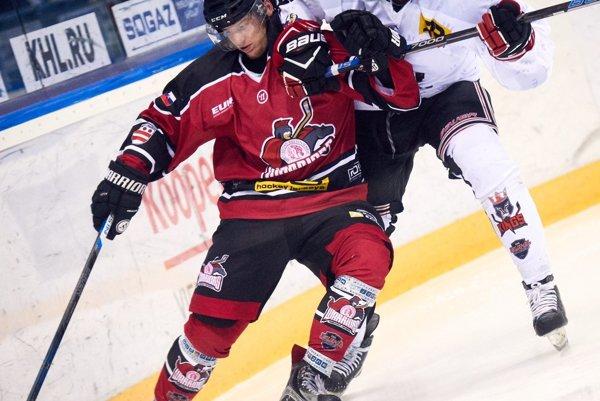 Warriors v akcii v zápase EUHL.