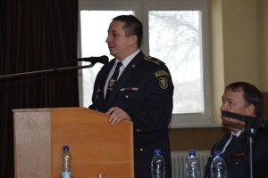 Tomáš Zanovit počas bilancie hasičských podujatí v uplynulých rokoch.