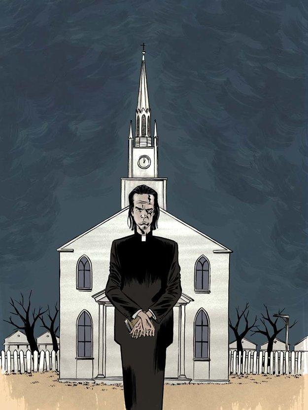 Kým sa zameral na hudobníkov, Reinhardt Kleist tvoril komiksy podľa hororov.